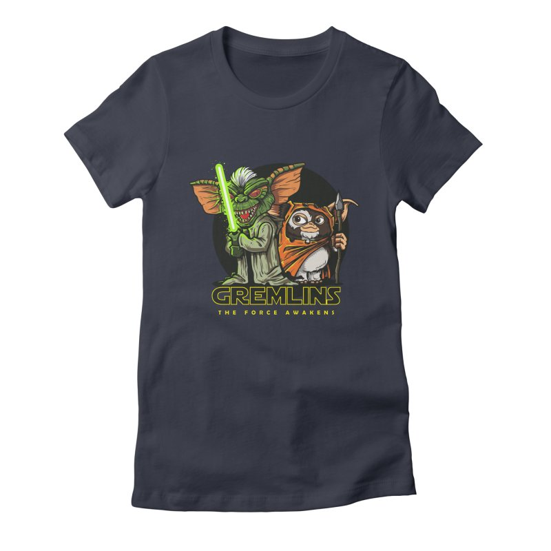Yoda, I'm not. Women's Fitted T-Shirt by Random Shirt Store