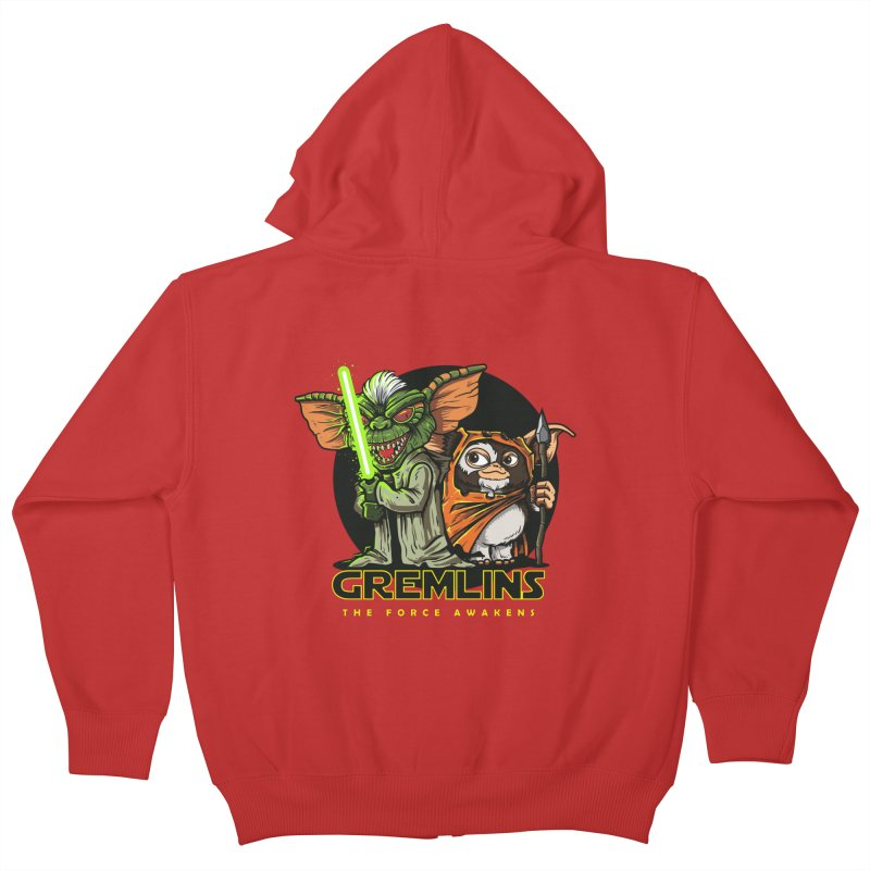 Yoda, I'm not. Kids Zip-Up Hoody by Random Shirt Store