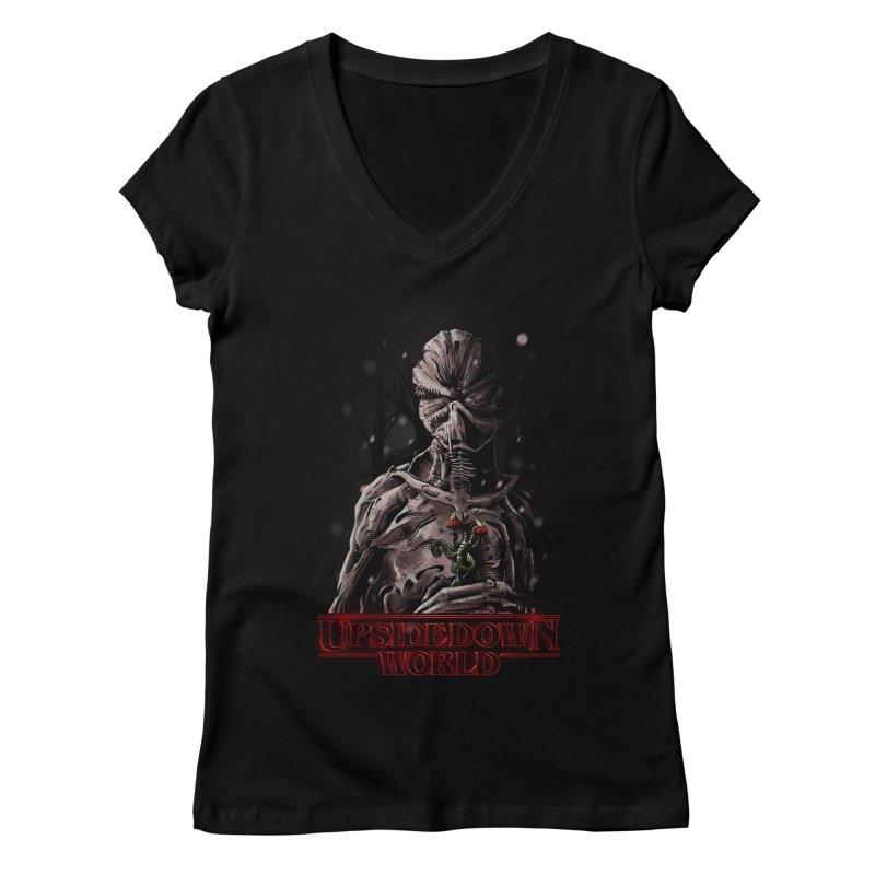 Demogorgon Women's V-Neck by Random Shirt Store