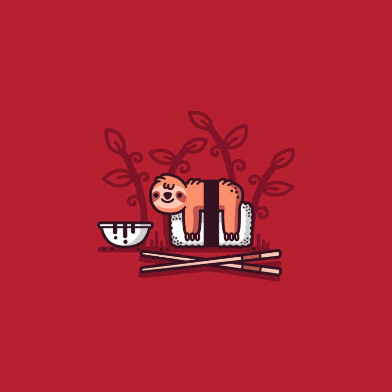 Sloth sushi by Randyotter