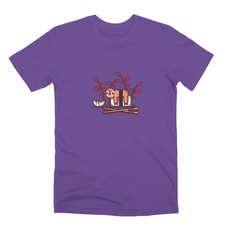 Sloth sushi Men's Premium T-Shirt by Randyotter