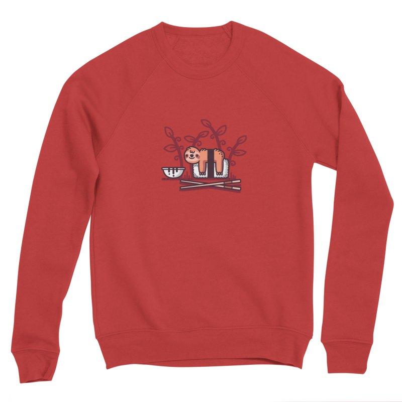 Sloth sushi Women's Sponge Fleece Sweatshirt by Randyotter