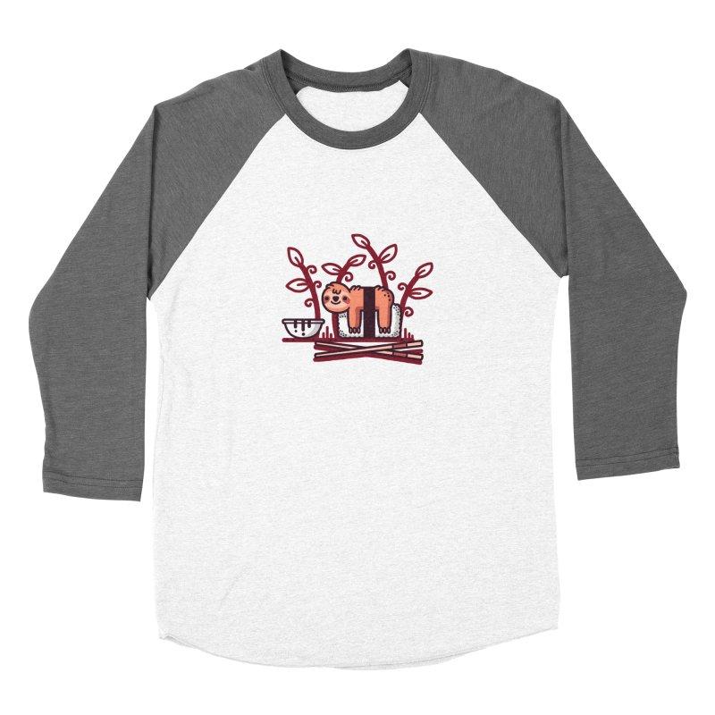 Sloth sushi Women's Longsleeve T-Shirt by Randyotter