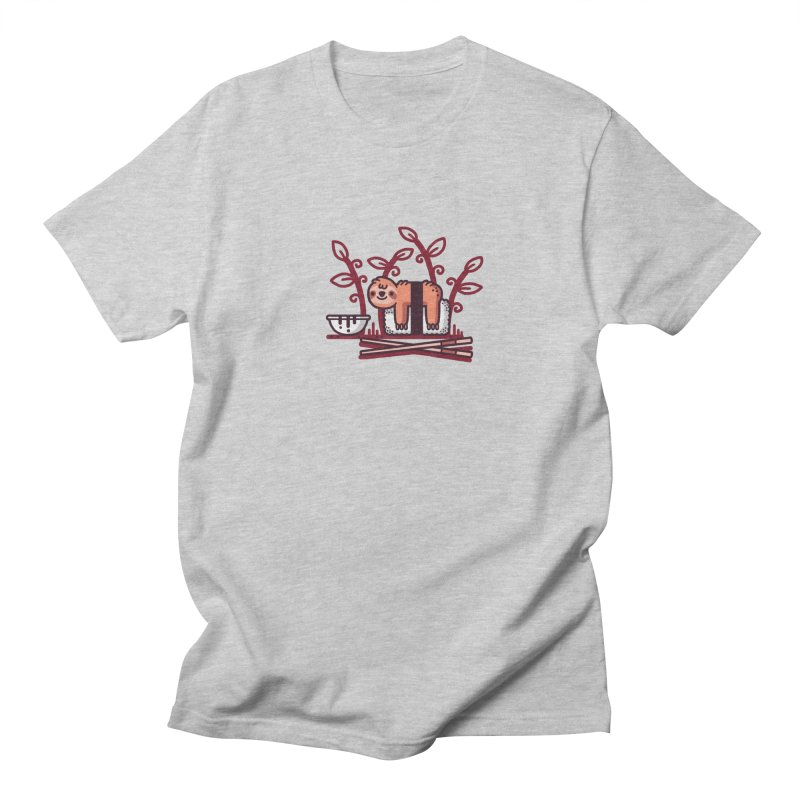 Sloth sushi Men's Regular T-Shirt by Randyotter