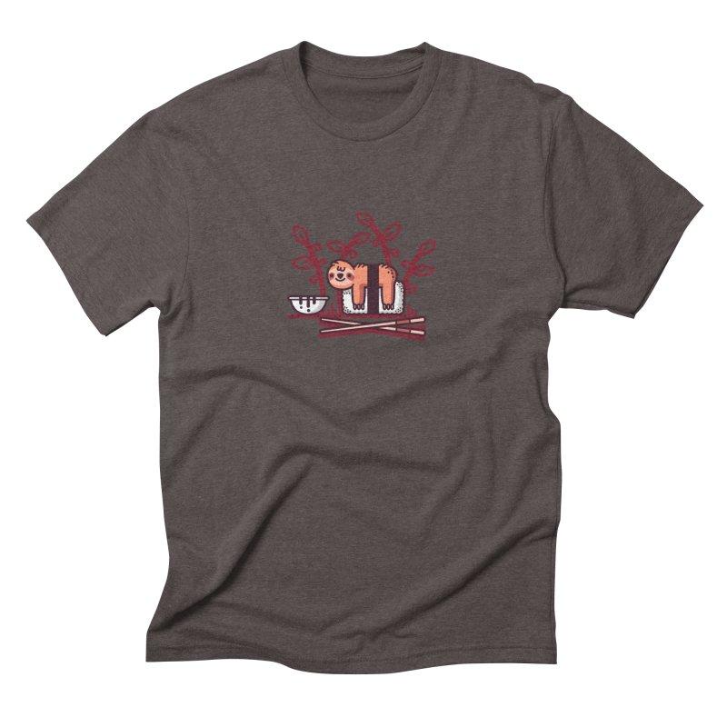 Sloth sushi Men's Triblend T-Shirt by Randyotter