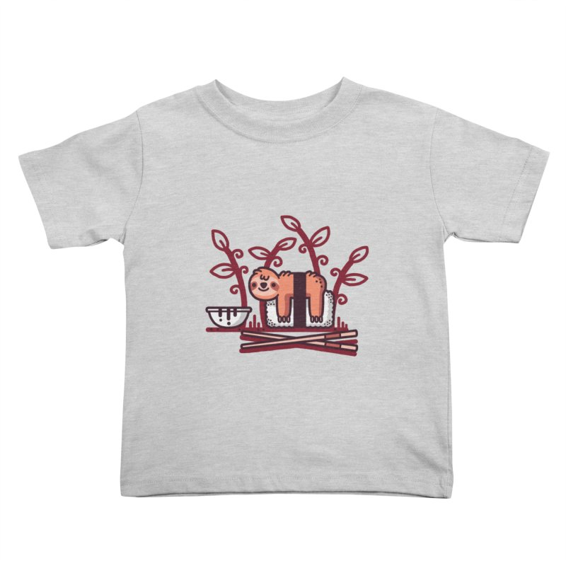 Sloth sushi Kids Toddler T-Shirt by Randyotter