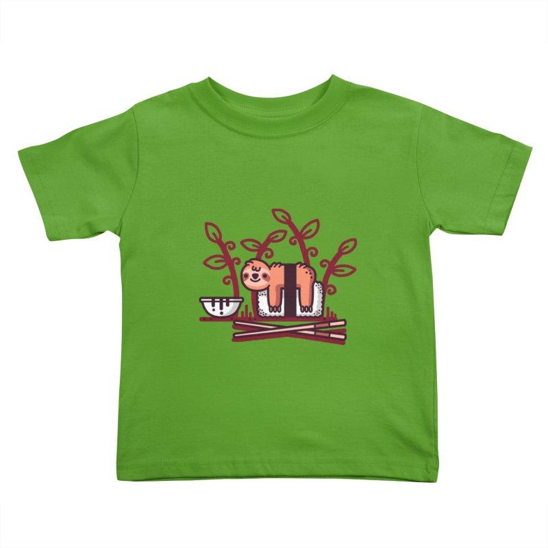 Sloth sushi Kids Toddler T-Shirt by Randyotter