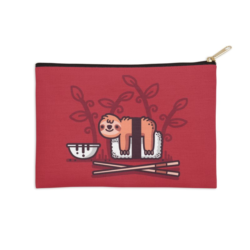 Sloth sushi Accessories Zip Pouch by Randyotter