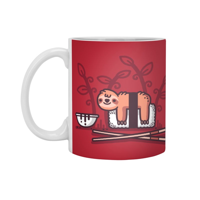 Sloth sushi Accessories Standard Mug by Randyotter