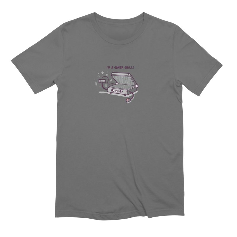 Gamer grill Men's Extra Soft T-Shirt by Randyotter