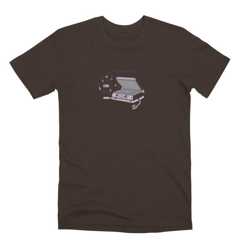 Gamer grill Men's Premium T-Shirt by Randyotter