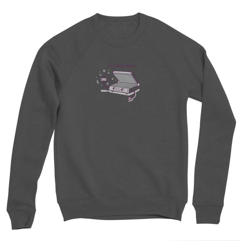 Gamer grill Women's Sponge Fleece Sweatshirt by Randyotter
