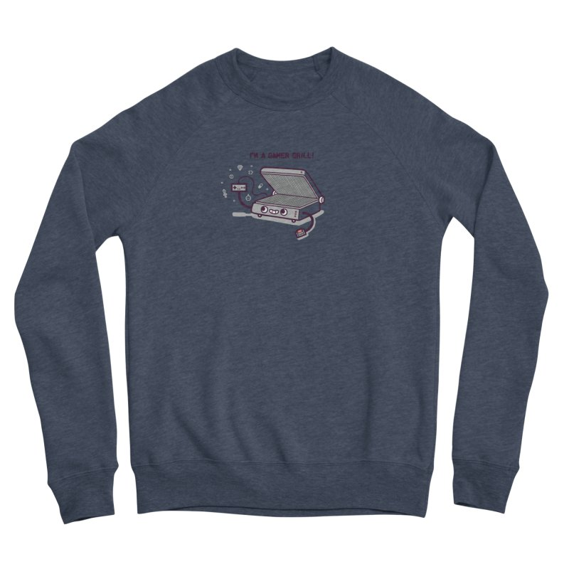 Gamer grill Men's Sponge Fleece Sweatshirt by Randyotter