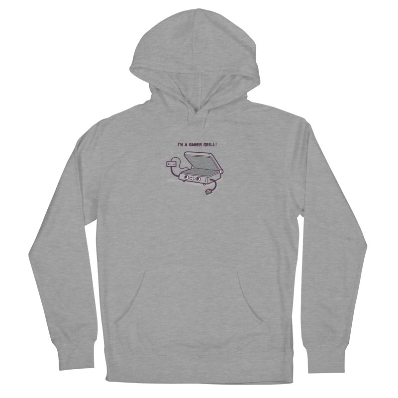 Gamer grill Women's Pullover Hoody by Randyotter