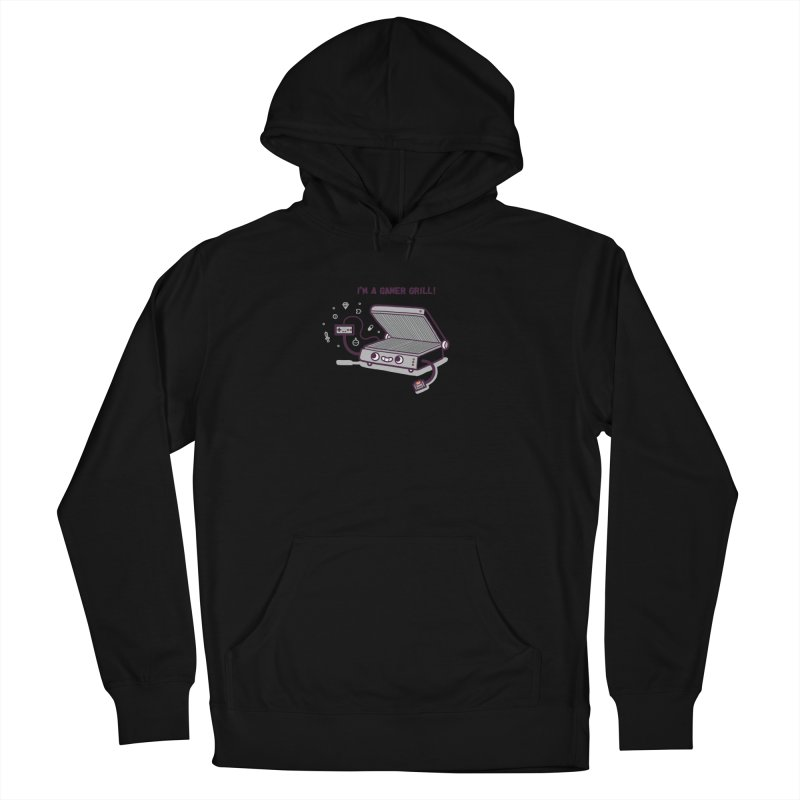 Gamer grill Women's French Terry Pullover Hoody by Randyotter
