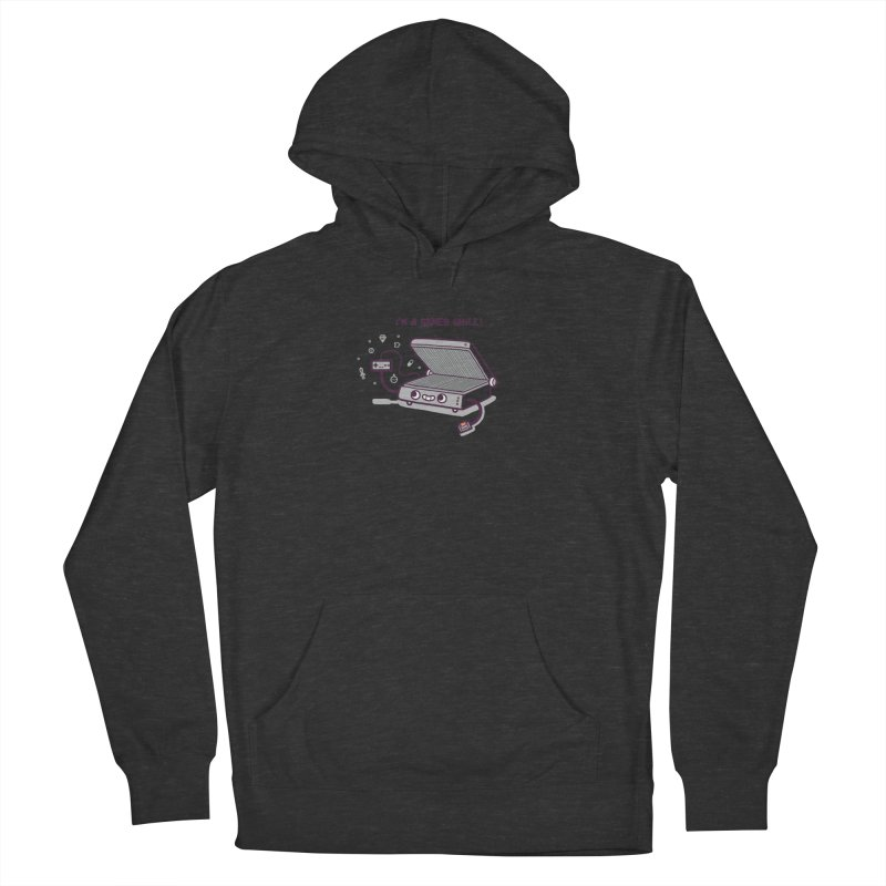 Gamer grill Men's French Terry Pullover Hoody by Randyotter