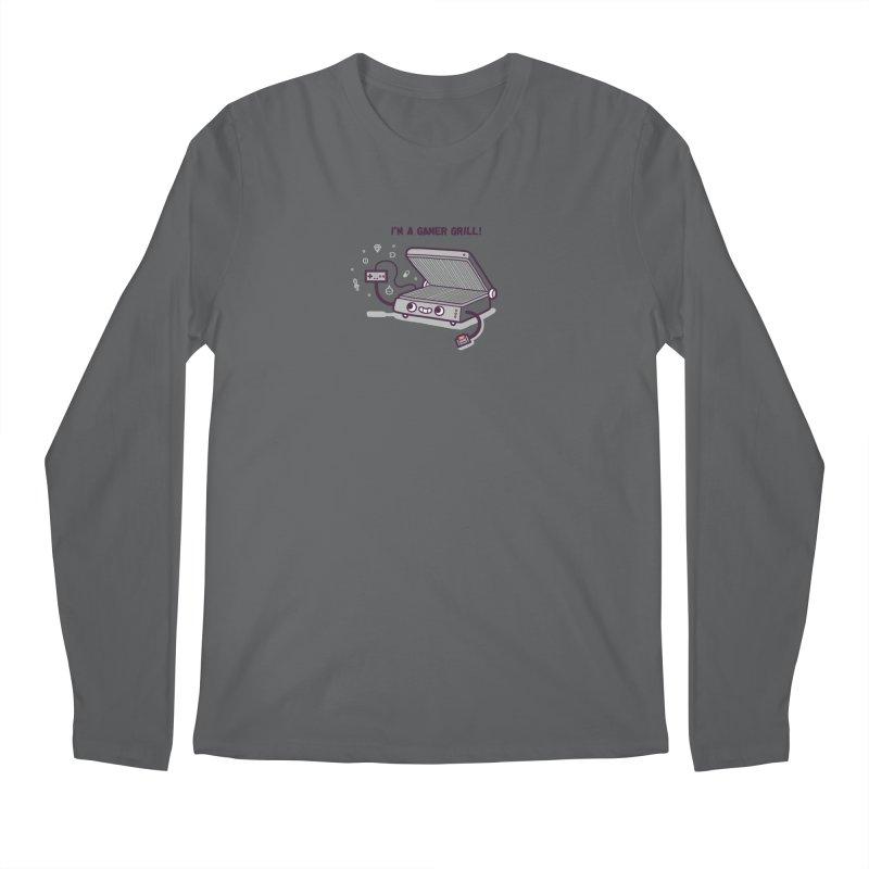 Gamer grill Men's Regular Longsleeve T-Shirt by Randyotter