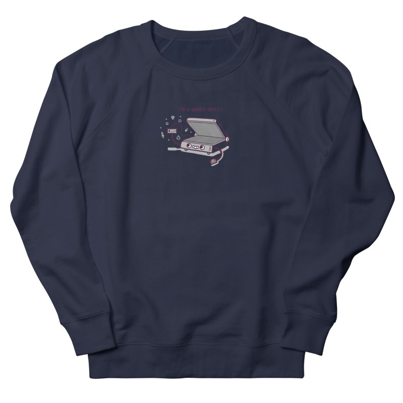 Gamer grill Women's French Terry Sweatshirt by Randyotter