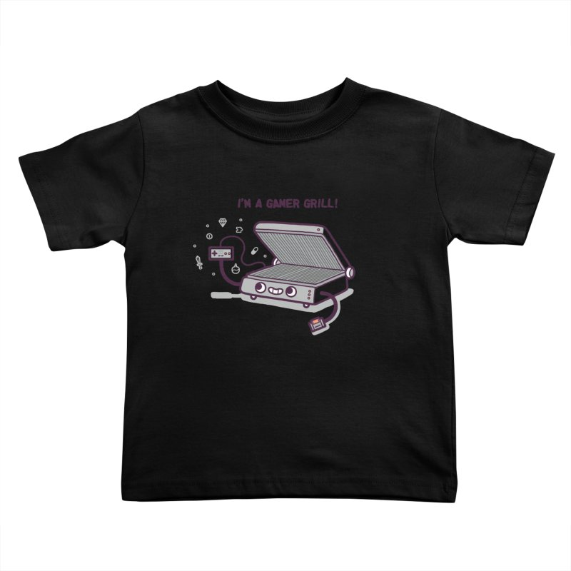 Gamer grill Kids Toddler T-Shirt by Randyotter