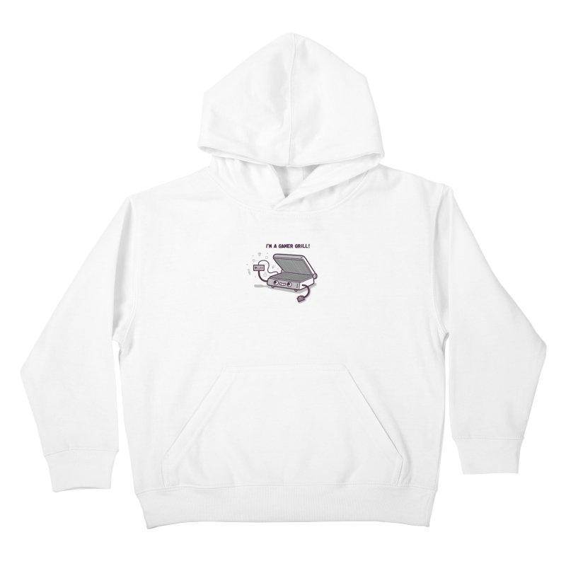 Gamer grill Kids Pullover Hoody by Randyotter