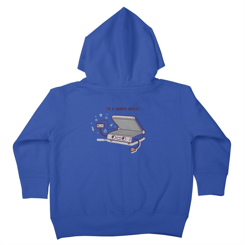 Gamer grill Kids Toddler Zip-Up Hoody by Randyotter
