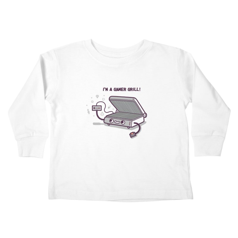 Gamer grill Kids Toddler Longsleeve T-Shirt by Randyotter