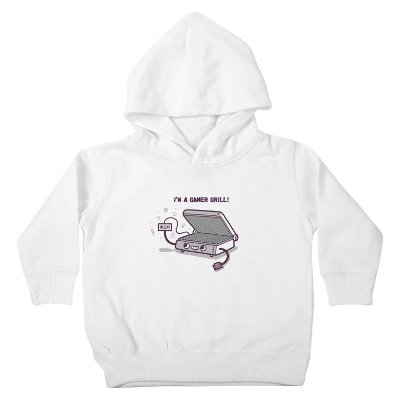 Gamer grill Kids Toddler Pullover Hoody by Randyotter