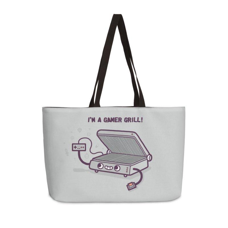 Gamer grill Accessories Weekender Bag Bag by Randyotter