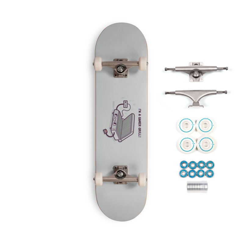Gamer grill Accessories Complete - Basic Skateboard by Randyotter