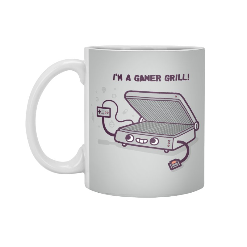Gamer grill Accessories Mug by Randyotter
