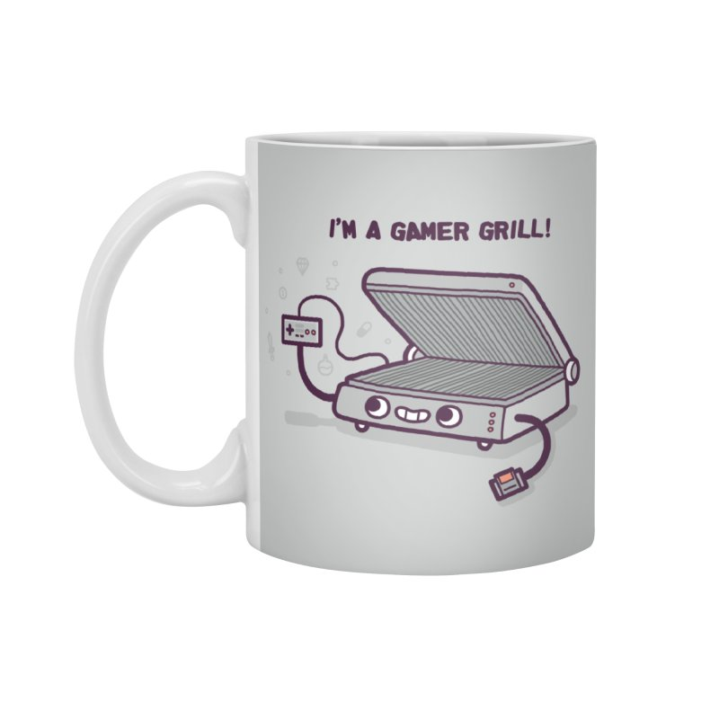 Gamer grill Accessories Standard Mug by Randyotter