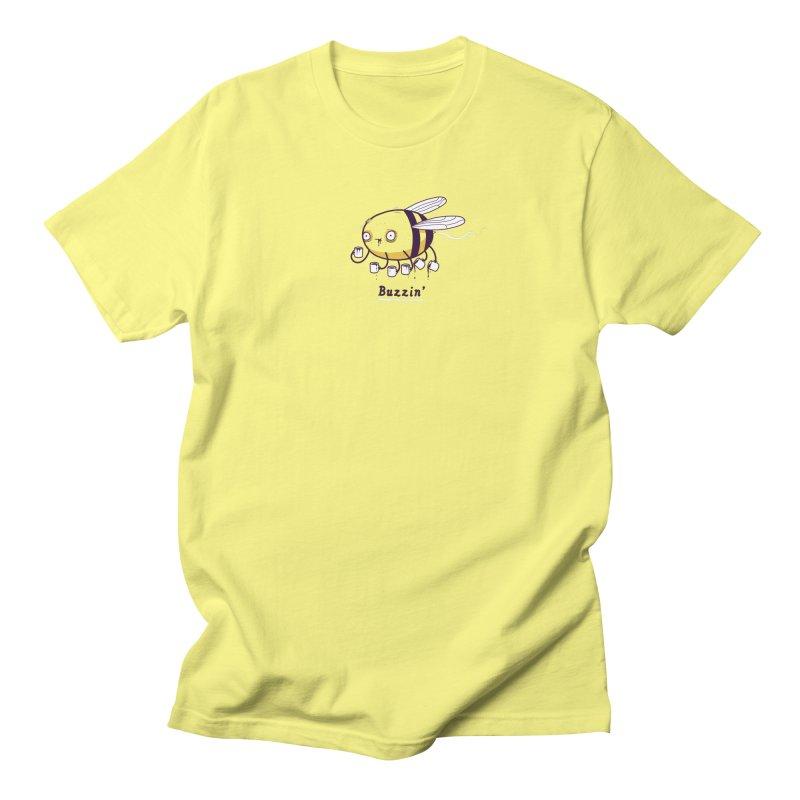 Buzzin Men's T-Shirt by Randyotter