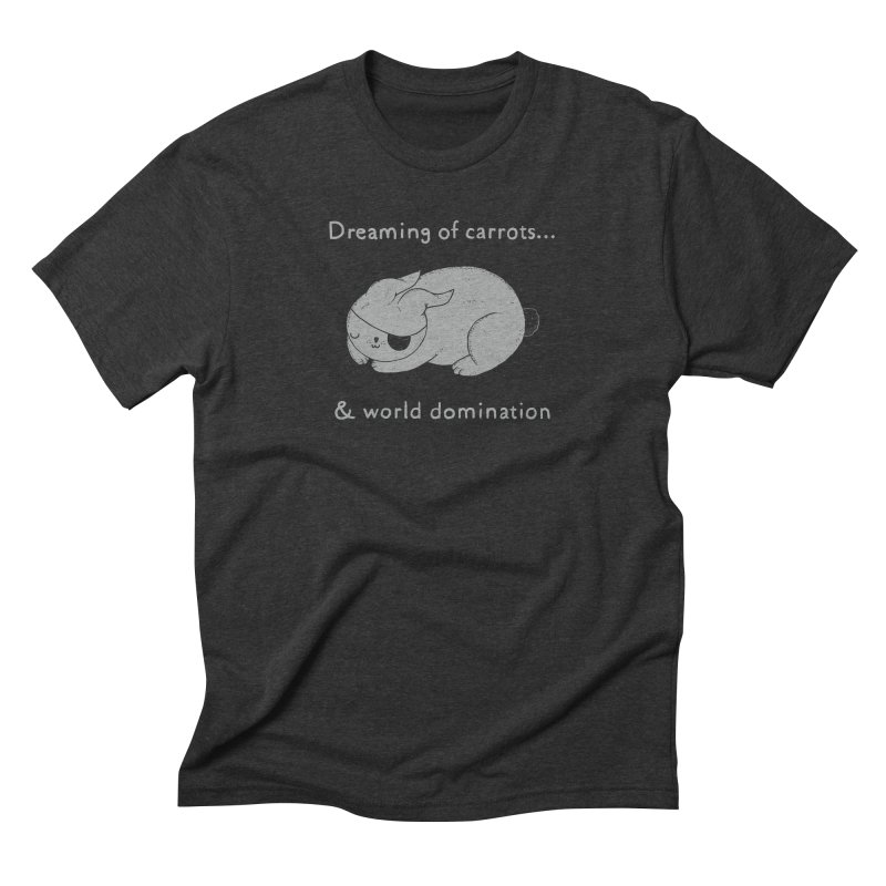 Dreaming of carrots Men's Triblend T-Shirt by Randyotter