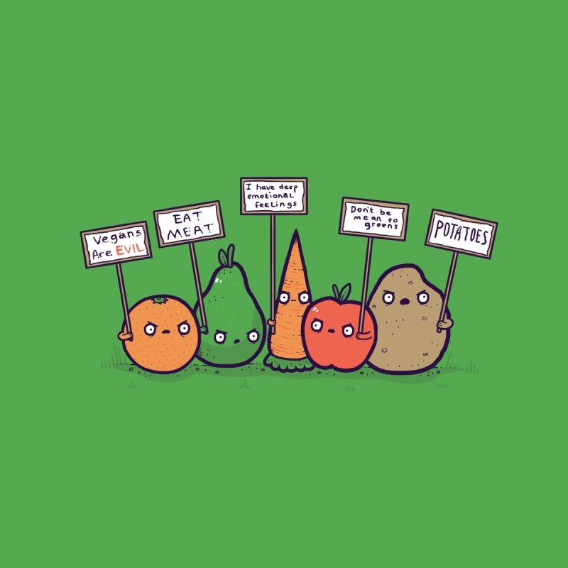 I hate vegans Men's Triblend T-shirt by Randyotter