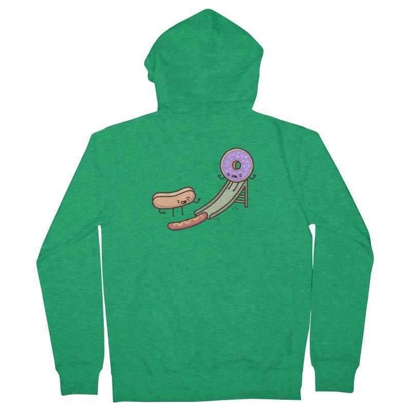 Hotdog prank Men's Zip-Up Hoody by Randyotter