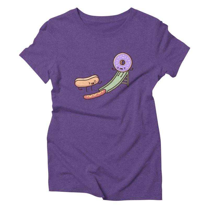 Hotdog prank Women's Triblend T-Shirt by Randyotter