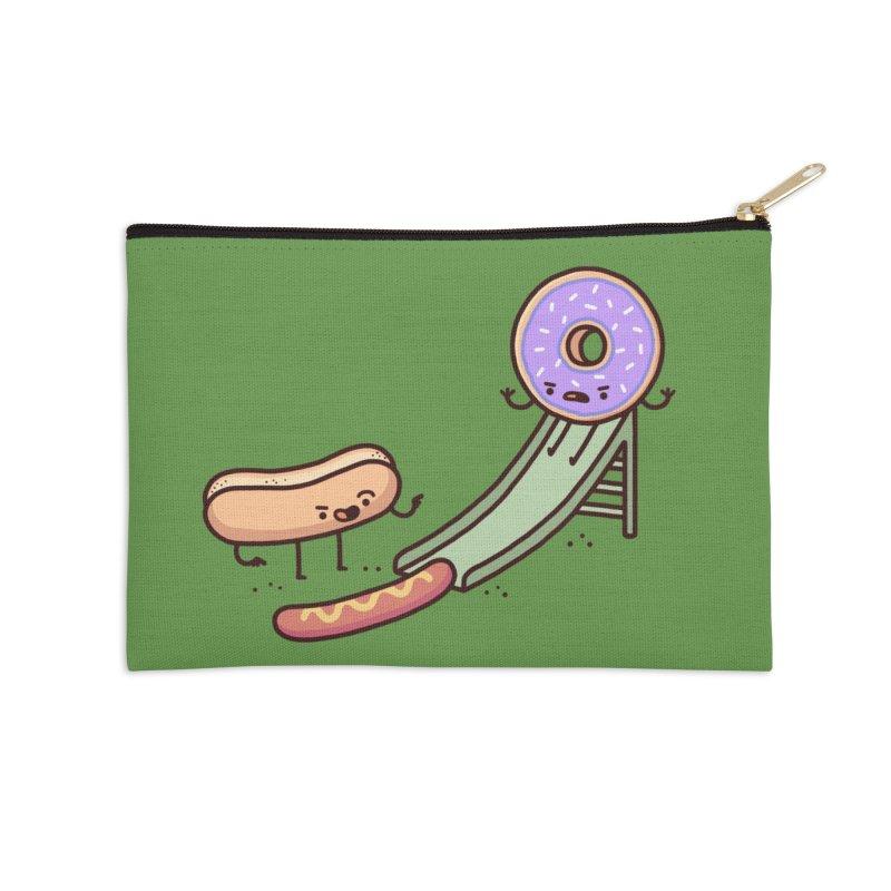 Hotdog prank Accessories Zip Pouch by Randyotter