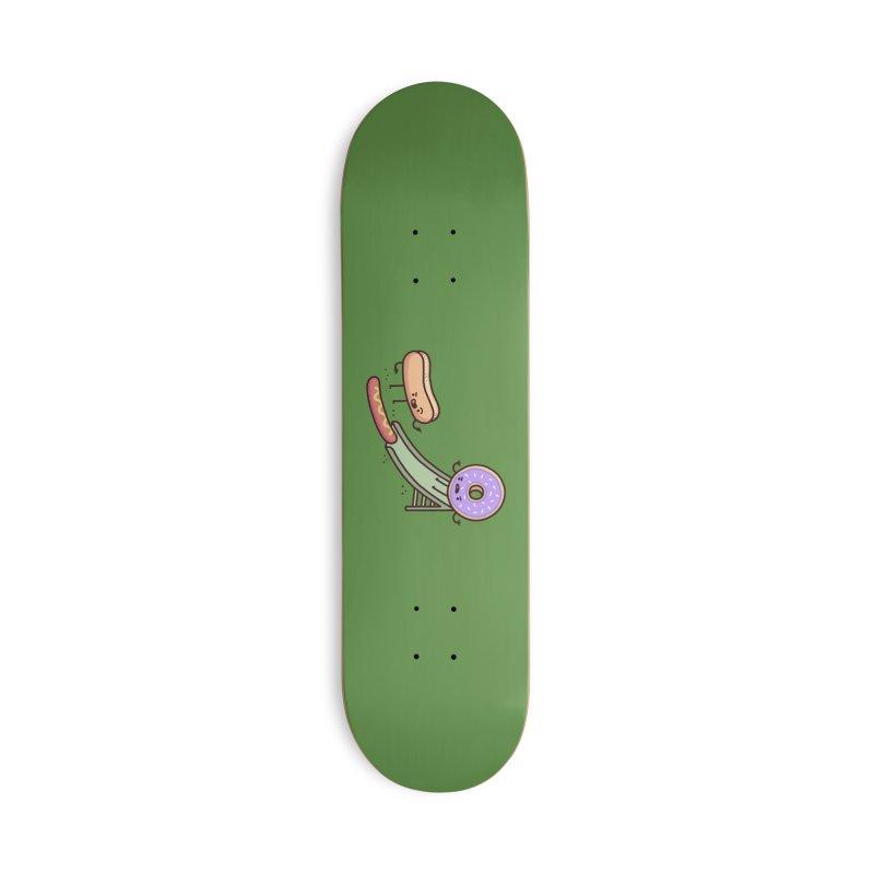 Hotdog prank Accessories Skateboard by Randyotter