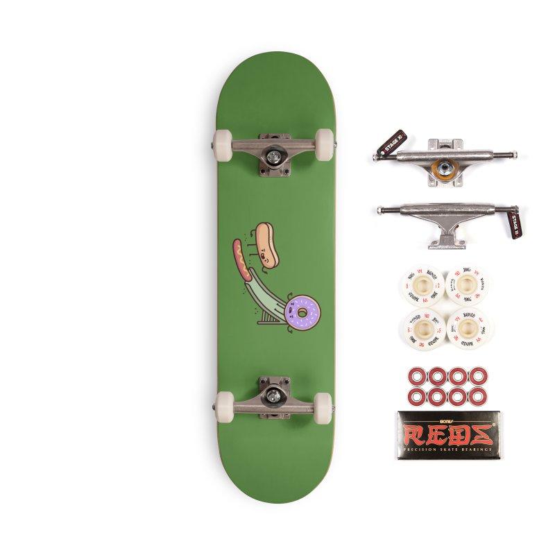 Hotdog prank Accessories Complete - Pro Skateboard by Randyotter