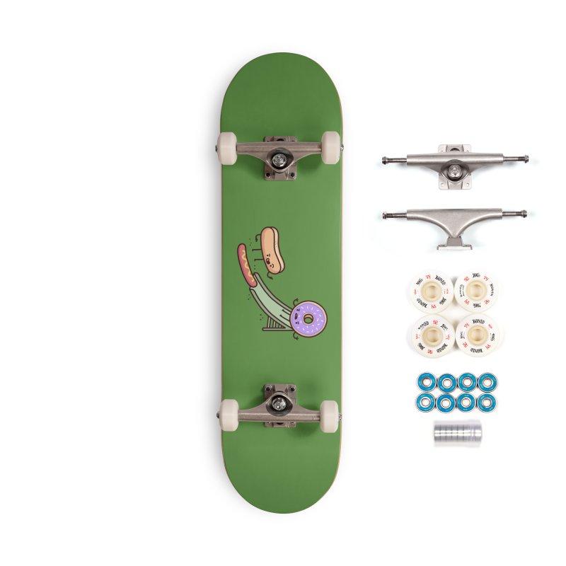 Hotdog prank Accessories Complete - Premium Skateboard by Randyotter