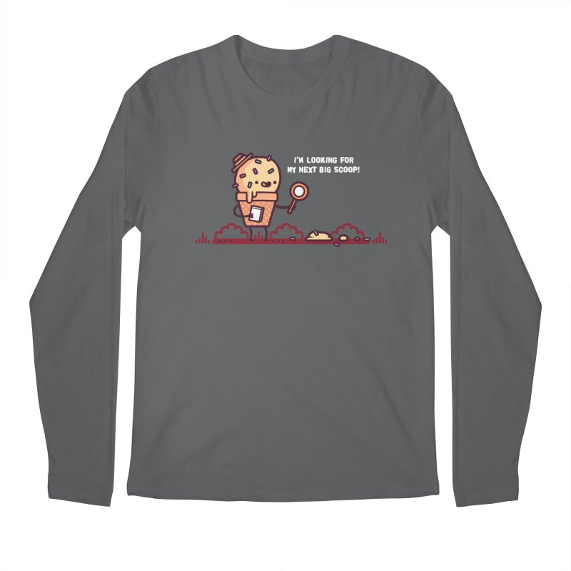 Big scoop Men's Longsleeve T-Shirt by Randyotter