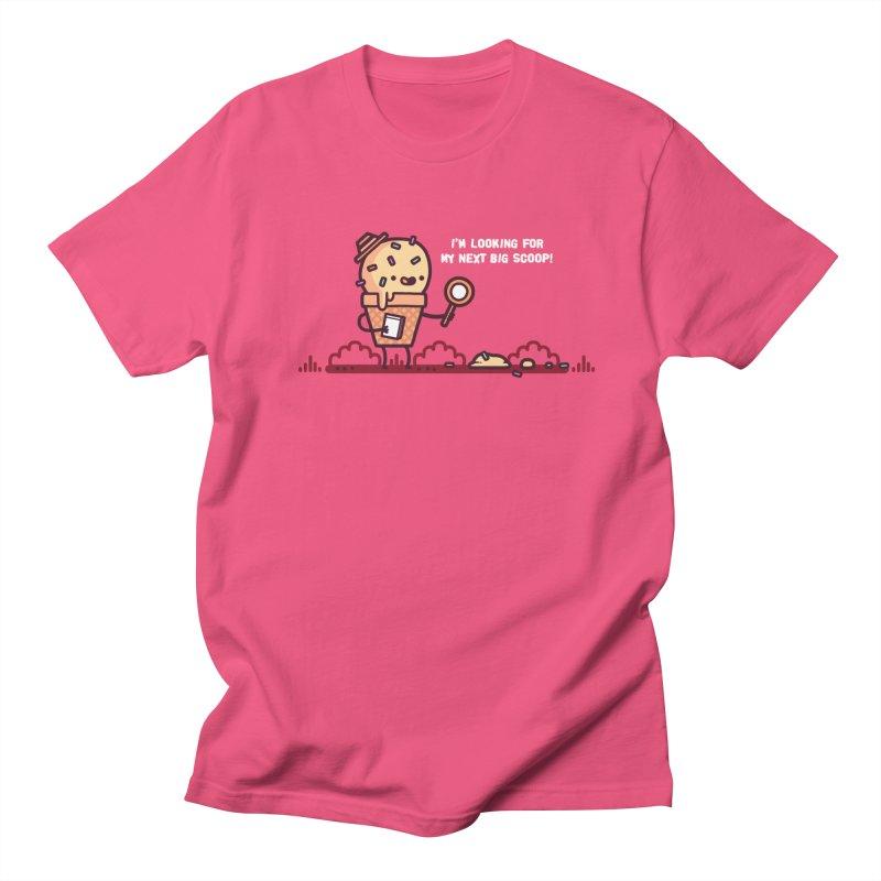 Big scoop Men's T-Shirt by Randyotter