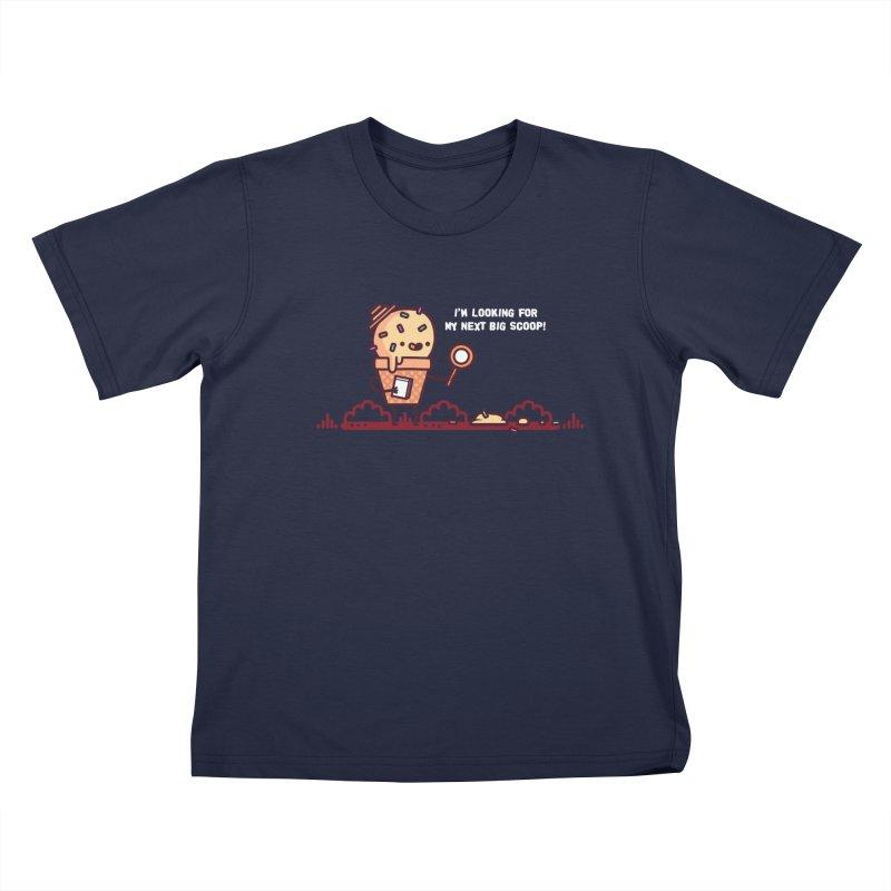 Big scoop Kids T-Shirt by Randyotter