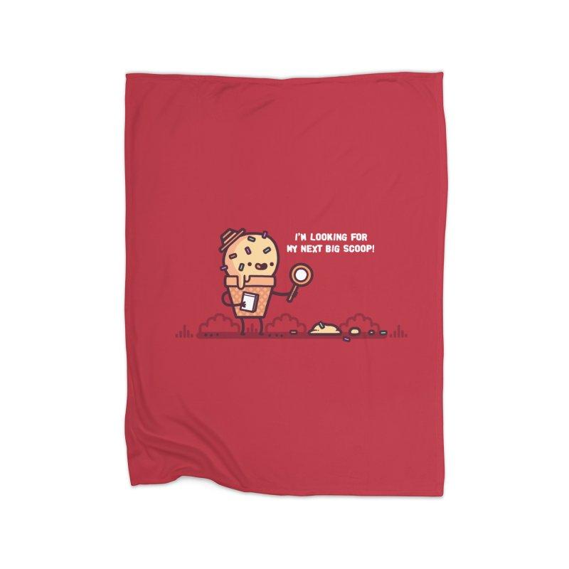 Big scoop Home Blanket by Randyotter