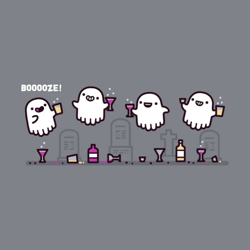 Booooze! Men's T-Shirt by Randyotter