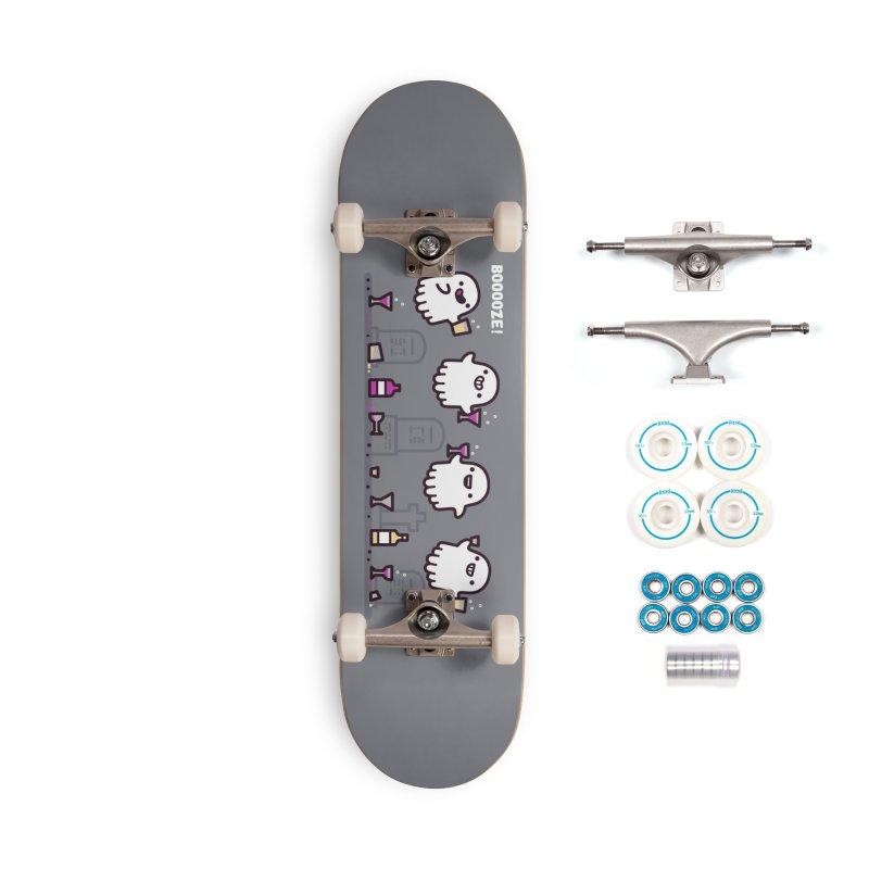 Booooze! Accessories Skateboard by Randyotter