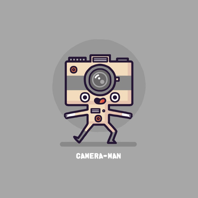 Camera-man Women's T-Shirt by Randyotter