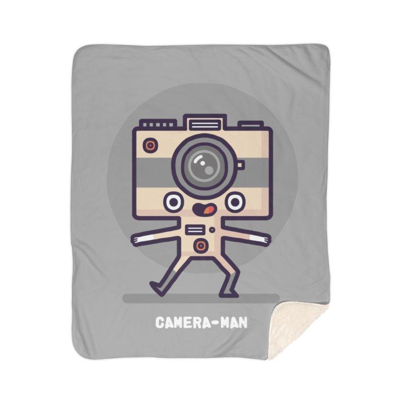 Camera-man Home Blanket by Randyotter
