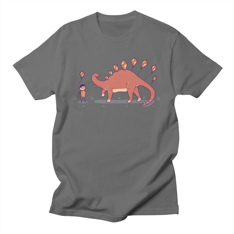Stegosoar Men's T-Shirt by Randyotter