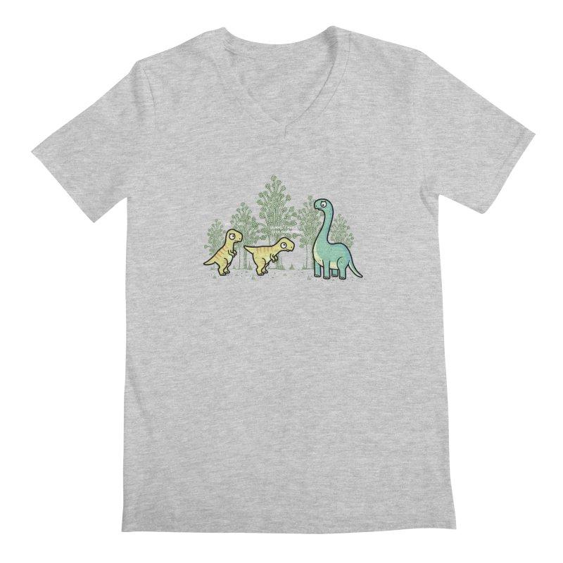 Herbivore Men's V-Neck by Randyotter
